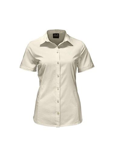 Jack Wolfskin Sonora Kadın Gömlek - 1402381-5017 Krem